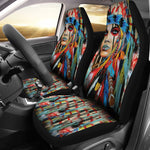Native American Woman Car Seat Cover  car seat covers, carthook_checkout, carthook_native, meta-size-chart-car-seat, native, Native America, Native American- Nichefamily.com
