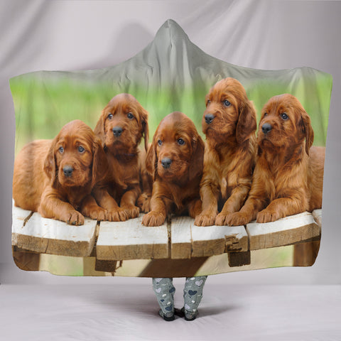 Hooded Wrap Around Pup Blanket  - Nichefamily.com