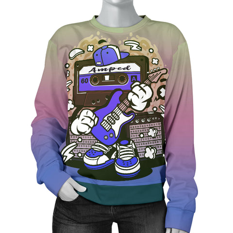 Amped Guitar Sweater for Musicians and Music Freaks  - Nichefamily.com