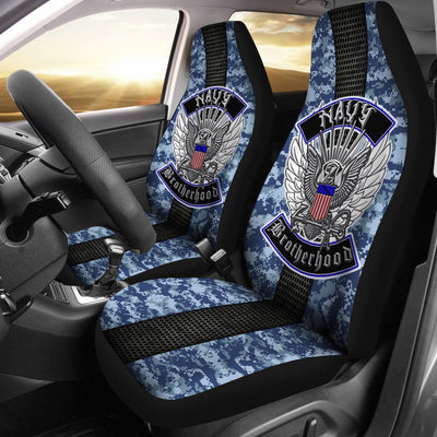 Buy Navy Brotherhood Car Seat Covers - Familyloves hoodies t-shirt jacket mug cheapest free shipping 50% off
