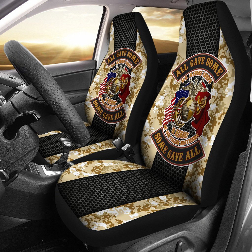 All gave some, some gave all U.S Marine corps Car Seat Covers