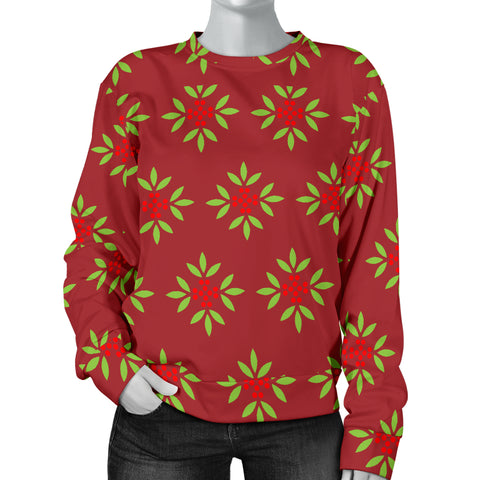 Wrapping Paper Women's Christmas Sweater  - Nichefamily.com
