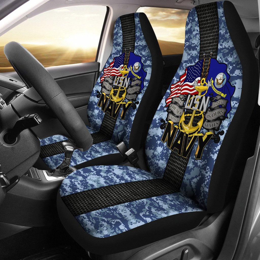 U.S Navy Car Seat Covers