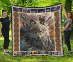 Wolf Native American Quilts  - Nichefamily.com
