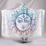 Bohemian Sun and Moon Hooded Blanket  - Nichefamily.com