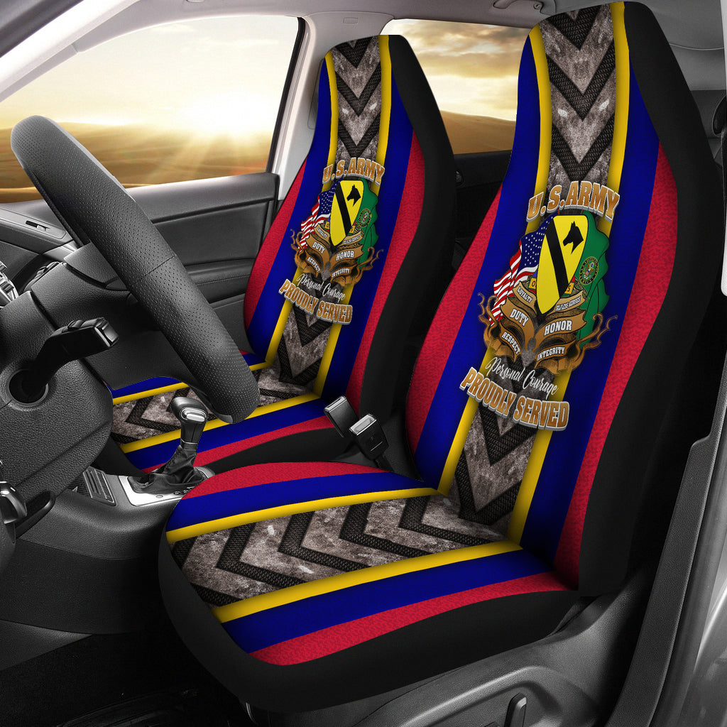 US Army 1st Cavalry Division Flight Car Seat Cover