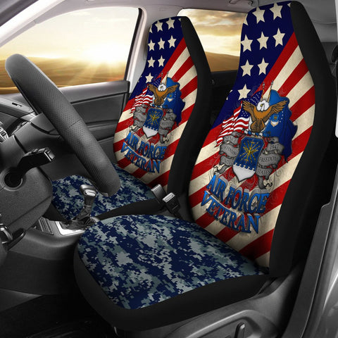 U.S Airforce Veteran Car Seat Cover  air force, AIR FORCE VETERAN HOODIE, aire force, car seat covers, carthook_airjacket, carthook_checkout, meta-related-collection-air-force, meta-related-c