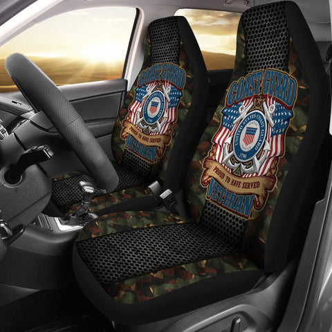 US COAST GUARD PROUD TO HAVE SERVED VETERAN CAR SEAT COVER  car seat covers, carthook_checkout, COAST GUARD, meta-related-collection-veterans, meta-size-chart-car-seat, u.s veteran, veteran,