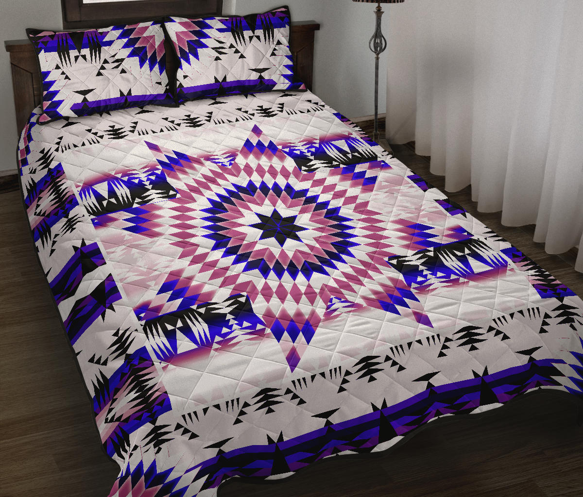 White Canyon Star Quilt