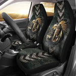 Native American indian eagle wolf spirit animals car seat cover  car seat covers, carthook_checkout, carthook_native, meta-size-chart-car-seat, native, Native America, Native American- Nichef