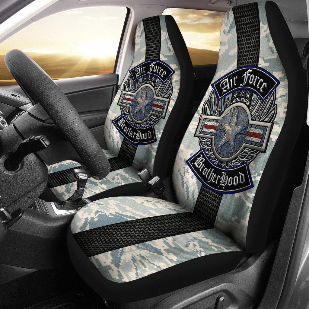 U.S Air Force brotherhood car seat cover