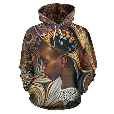 Buy BLACK ART AMERICAN NATIVE OVER PRINT HOODIE - Familyloves hoodies t-shirt jacket mug cheapest free shipping 50% off