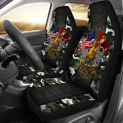 Semper fidelis united states marines veteran Car Seat Covers  car seat covers, carthook_checkout, carthook_marine_embroidered, marine, MARINES, meta-related-collection-marine-corps, meta-rela