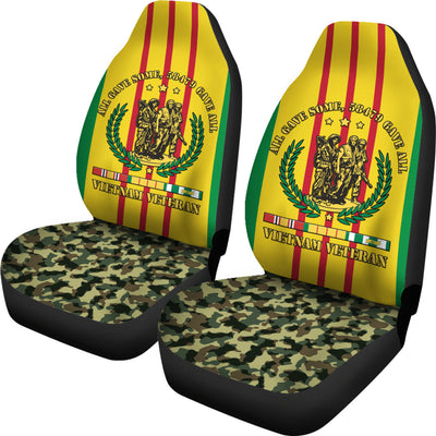 vietnam veteran car seat cover