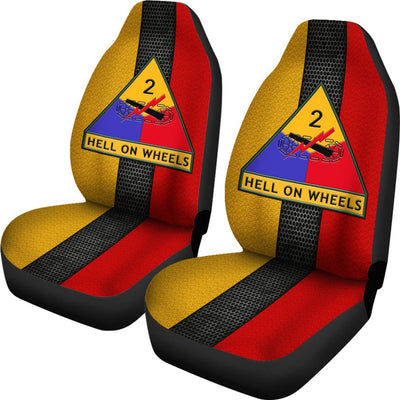 Buy 2nd Armored Division hell on wheels Car Seat Covers - Familyloves hoodies t-shirt jacket mug cheapest free shipping 50% off