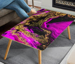 HandCrafted Psychedelic Abstract Coffee Table  - Nichefamily.com