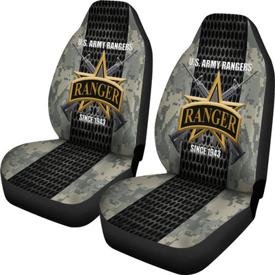 Buy U.S Army Rangers since 1943 Car Seat Covers - Familyloves hoodies t-shirt jacket mug cheapest free shipping 50% off