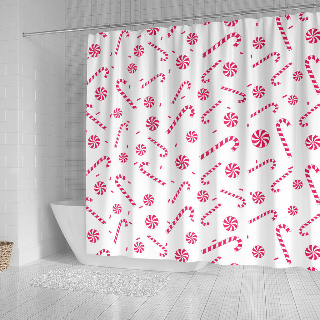 Peppermint Shower Curtain