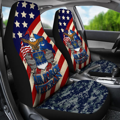 Buy U.S Airforce Veteran Car Seat Cover - Familyloves hoodies t-shirt jacket mug cheapest free shipping 50% off