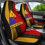 2nd Armored Division hell on wheels Car Seat Covers  2nd Armored Division, car seat covers, carthook_checkout, meta-size-chart-car-seat, u.s veteran, veteran- Nichefamily.com