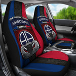 82nd Airborne Division Airborne veteran Car Seat Covers  82nd Airborne Division, airborne, car seat covers, carthook_checkout, meta-size-chart-car-seat, u.s veteran, veteran- Nichefamily.com
