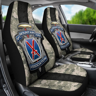 Buy 10th Mountain Division association Car Seat Covers - Familyloves hoodies t-shirt jacket mug cheapest free shipping 50% off