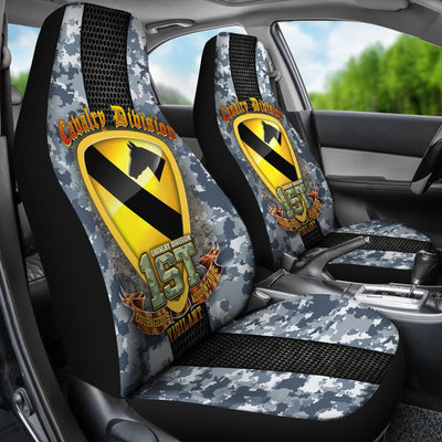 Buy 1st Cavalry Division courageous accountable vigilant Car Seat Covers - Familyloves hoodies t-shirt jacket mug cheapest free shipping 50% off