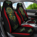 Native American Owl Printed 3D Car Seat Cover  car seat covers, carthook_checkout, carthook_native, meta-size-chart-car-seat, native, Native America, Native American- Nichefamily.com