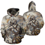 NATIVE AMERICAN EAGLE OVER PRINT HOODIE  carthook_checkout, meta-size-chart-all-over-print-hoodie, native, Native America, Native American, native woman, over print hoodie, overprinthoodie- N