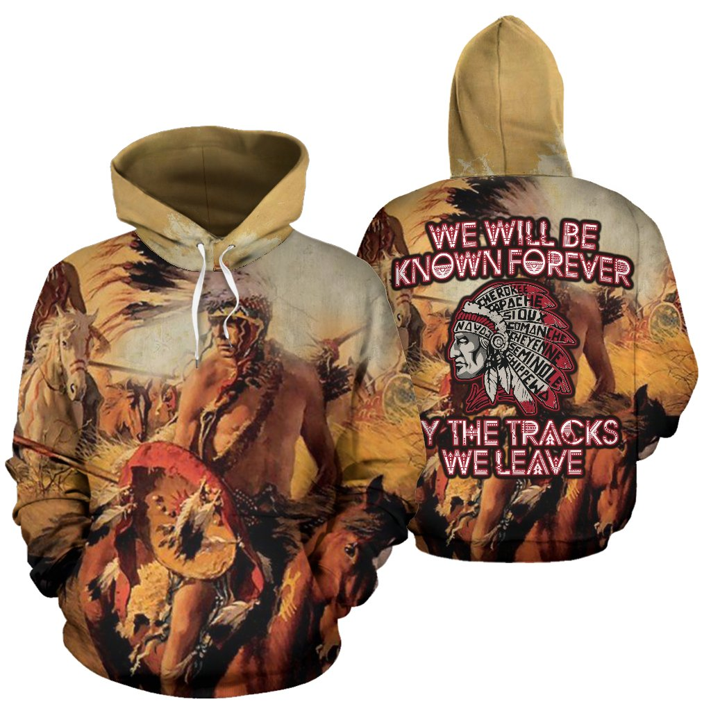 Buy We will be known forever by the tracks we leave all over hoodie - Familyloves hoodies t-shirt jacket mug cheapest free shipping 50% off