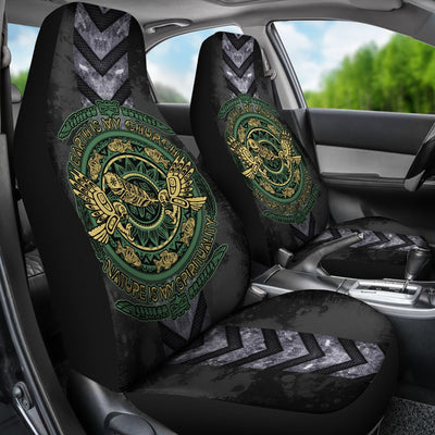 Earth Is My Church Natural Is Spirituality Car Seat Cover