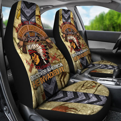 Buy Celebrate national native ammerican day... car seat cover - Familyloves hoodies t-shirt jacket mug cheapest free shipping 50% off