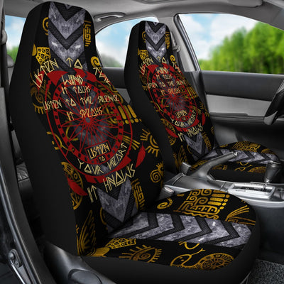 Listen to the wind it talks listen to the silence it speaks listen to your heart it knows car seat cover