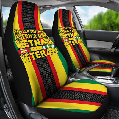 Buy WE WERE THE BEST AMERICA HAD VIETNAM VETERAN CAR SEAT COVER v2.0 - Familyloves hoodies t-shirt jacket mug cheapest free shipping 50% off