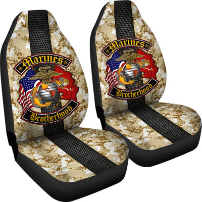 U.S Marines brotherhood car seat covers