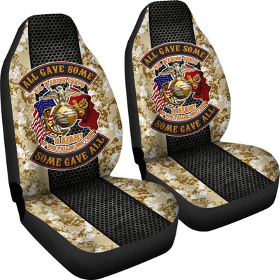 Buy All gave some, some gave all U.S Marine corps Car Seat Covers - Familyloves hoodies t-shirt jacket mug cheapest free shipping 50% off