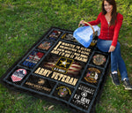I wanted to serve. I volunteered to serve... Army Quilts  - Nichefamily.com