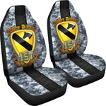 1st Cavalry Division courageous accountable vigilant Car Seat Covers  1st cavalry division, car seat covers, carthook_checkout, meta-related-collection-veterans, meta-size-chart-car-seat, u.s