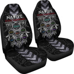Native Seven Teachings Car Seat Cover  car seat covers, carthook_checkout, carthook_native, meta-size-chart-car-seat, native, Native America, Native American- Nichefamily.com
