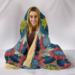 Boho Abstract Hooded Blanket  - Nichefamily.com