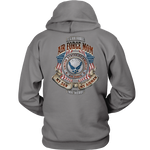 AIR FORCE MOM, MY SON MY AIRMAN MY HERO HOODIE T-shirt air force, air force mom, carthook_airjacket, carthook_checkout, meta-related-collection-air-force, meta-related-collection-army, meta-r