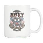 NAVY - PROUD TO HAVE SERVED - SINCE 1775 MUG Drinkware carthook_checkout- Nichefamily.com