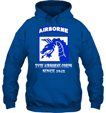 XVIII airborne corps since 1942 men, women hoodie, sweatshirt, t-shirt Apparel - Nichefamily.com