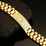 We build, We fight for i was am and shall forever be a United States Navy Seabees men's bracelets  bracelet, carthook_airjacket, carthook_checkout, Men Gold Bracelets, meta-related-collection
