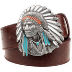 Native American Silver Color Belts  belt, carthook_checkout, native, native american- Nichefamily.com