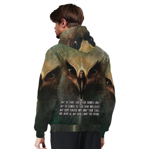 the stars carry your sadness away.. may silence make you strong Sherpa Hoodie AOP Sherpa Hoodie - Nichefamily.com