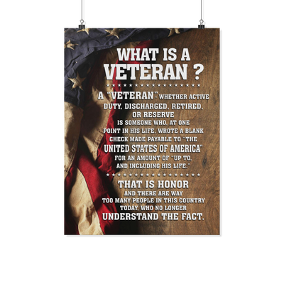 Buy what is a veteran ? poster - Familyloves hoodies t-shirt jacket mug cheapest free shipping 50% off