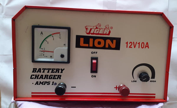 Tiger Battery Charger 12v-10amps