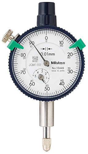 MITUTOYO 1044S PLUNGER DIAL INDICATOR 5MM COMPACT MINI GAUGE