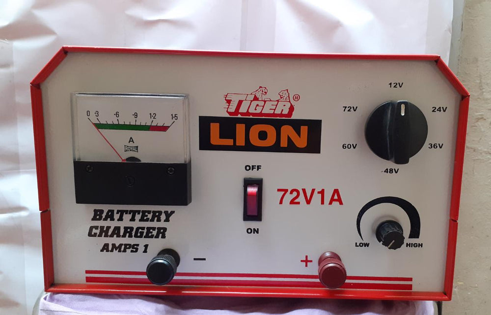 Tiger Battery Charger 72v-1a Full Wave Rbc-11